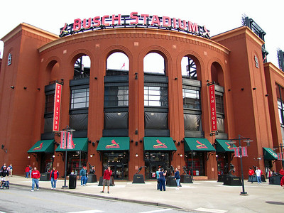 Busch Baseball Stadium in St  Louis, Missouri