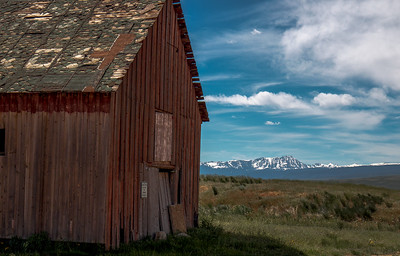 Another old barn at the north end of Kremmling off of Hwy 40.