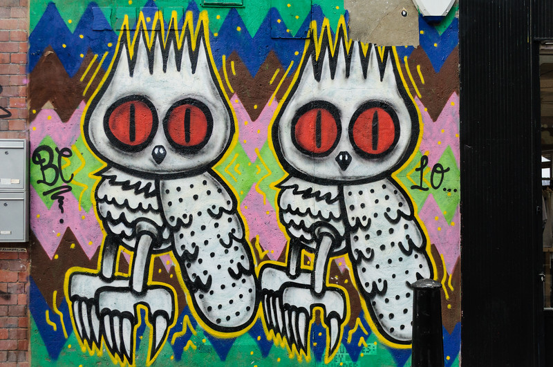 Owls by Dscreet, Brick Lane & Spitalfields, East London