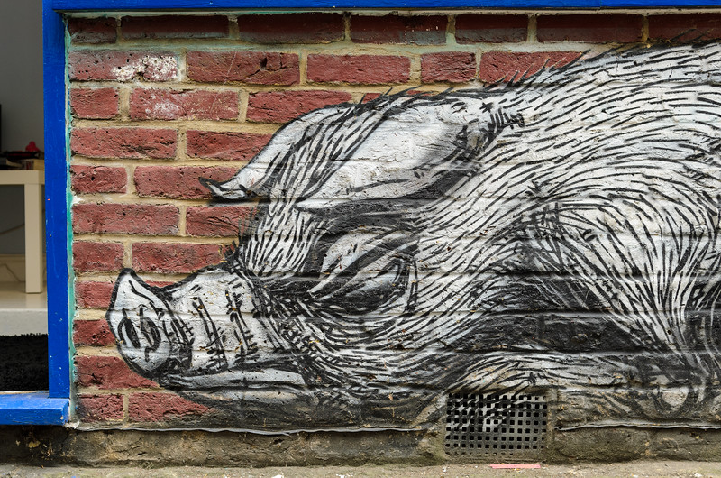 ROA in Bacon Street, Hoxton & Shoreditch (London)