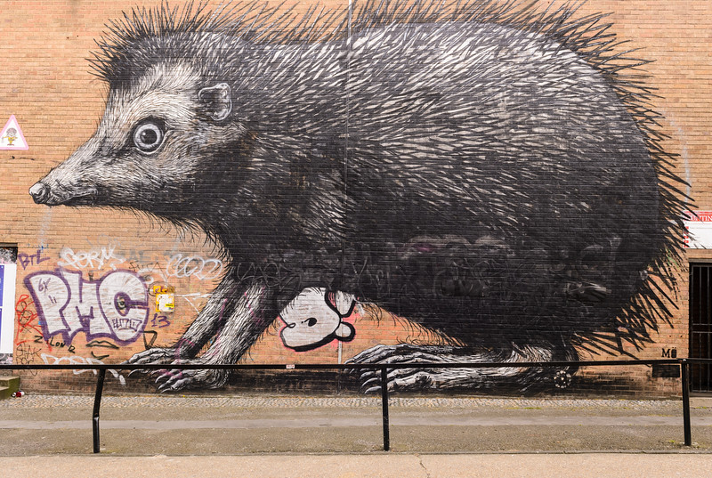 ROA on Hedghog St., Hoxton & Shoreditch (London)