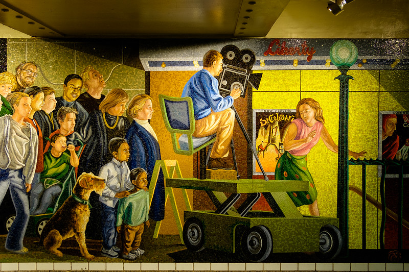 In 42nd St. Station, New York