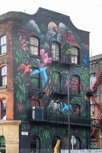 Mateus Bailon (Brazil), Cities of Hope 2016, Faraday St., Manchester Northern Quarter