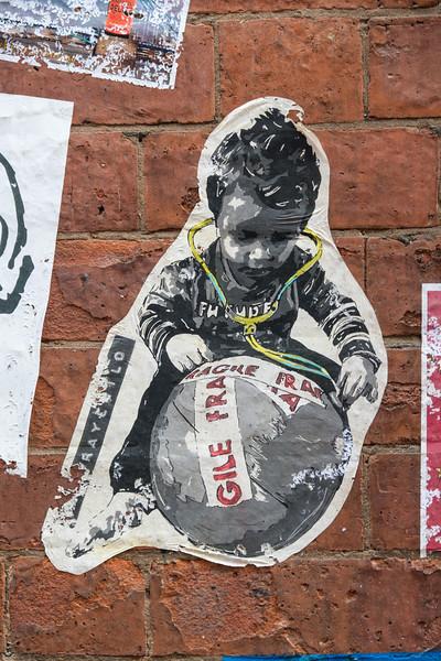 Spraychild, Manchester Northern Quarter