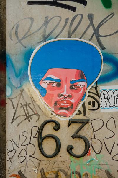 Paris:  Canal St. Martin street art