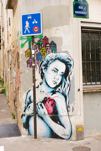 Zabou, rue Barrault, Paris (13th)
