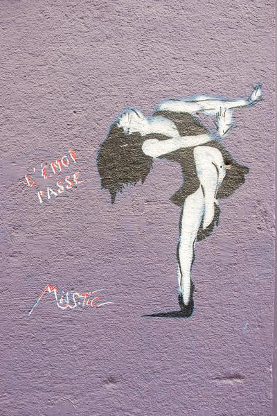 Miss Tic, in the 13th, Paris
