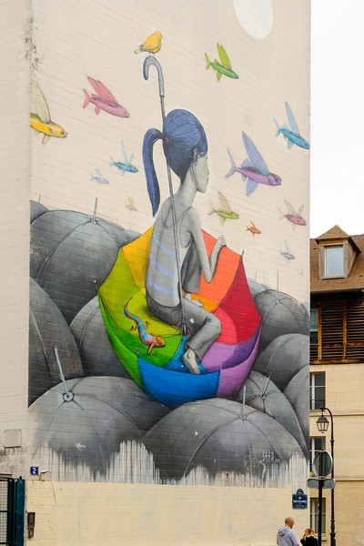 Seth (Julien Malland), rue Emile Deslandres, Paris (13th)