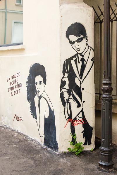 Miss Tic, Paris (13th)