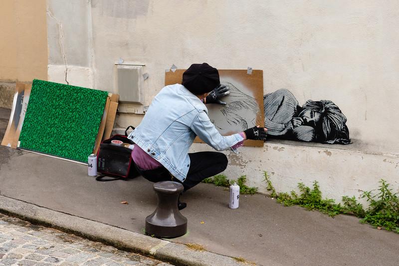 Jef Aérosol (Jean-François Perroy), Paris (13th)