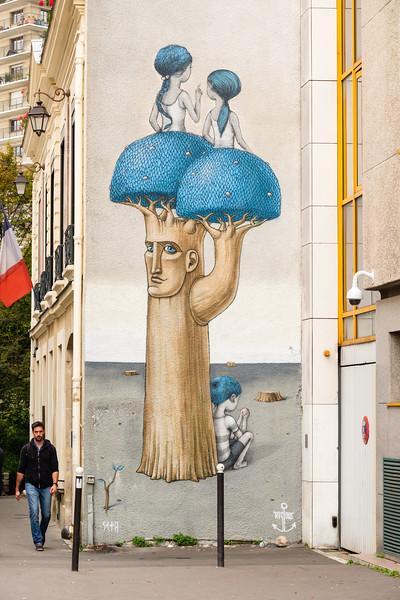 Seth (Julien Malland) & Lislow, rue des Cordelières, Paris (13th)