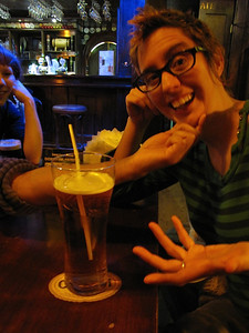 really?  a straw with beer?