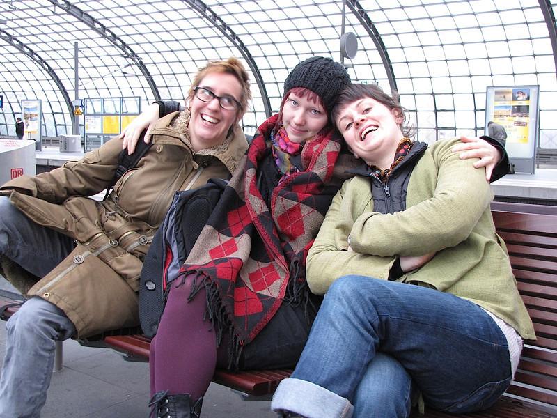 mit Charlie, Sam und Reb