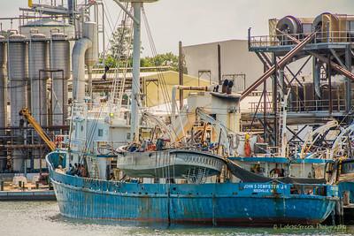 Menhaden fishing vessel.  Reedville, VA