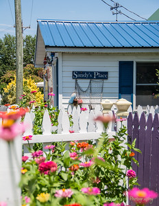 Sandy's Place is one of several little gift shops found up and down Main Street on Tangier Island.