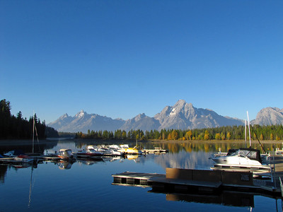 Grand Teton National Park, Wyoming (Colter Bay-morning) (1)