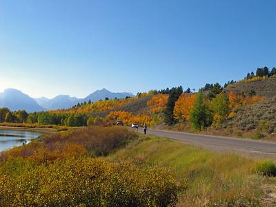 Grand Teton National Park, Wyoming (Oxbow Bend Turnout) (2)