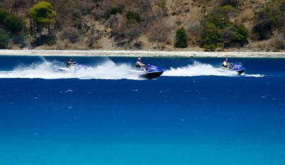 Jet Ski's, Coki Beach, St. Thomas