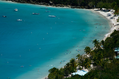 World Famous Magen's Bay Beach