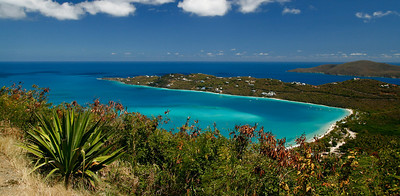 Drake's Seat Panoramic View, Magen's Bay, St. Thomas USVI