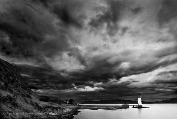 Lighthouse of Bloody Bay, Isle of Mull, Scotland