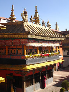 in the Jokhang Temple, Lhasa