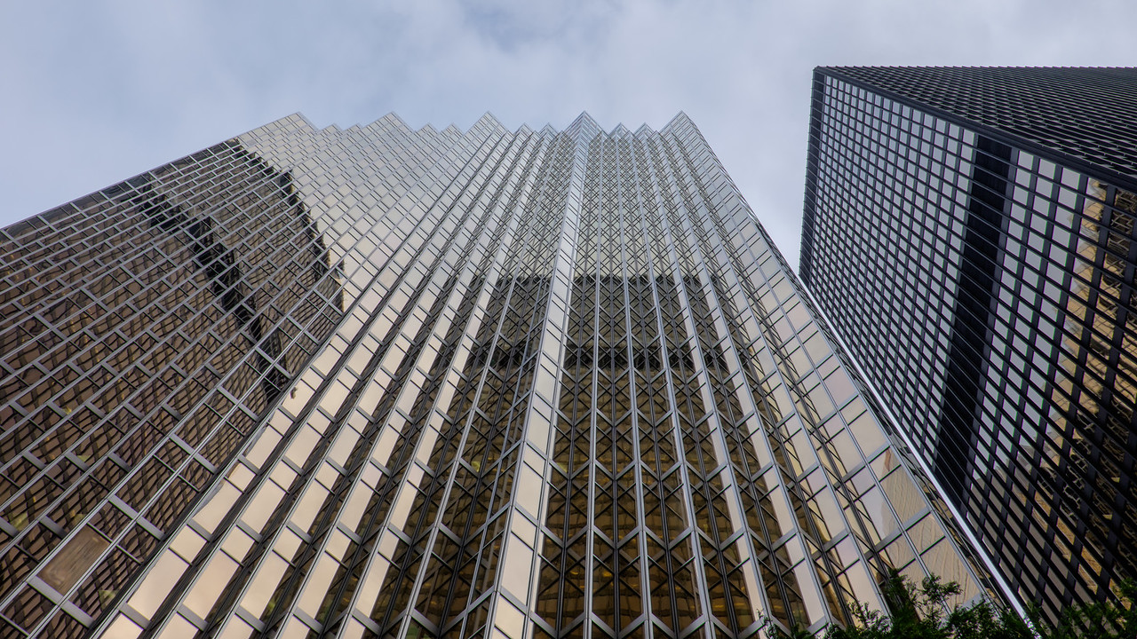 Toronto business district