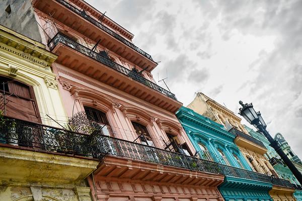 Life Is Happening On The Balconies Of Havana