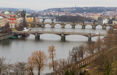 Vltava bridges, Prague