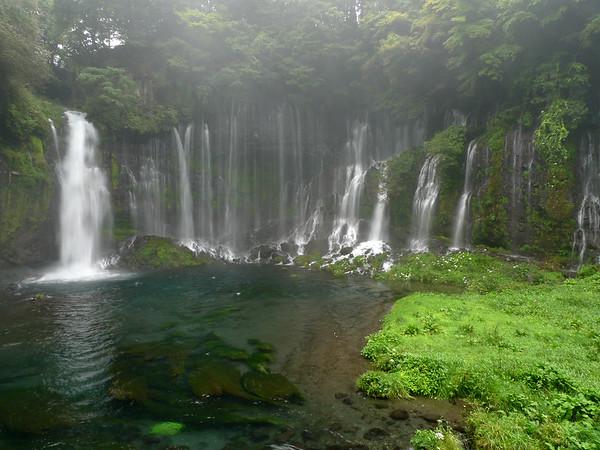 Shiraito Falls (Shizuoka Prefecture, near Mt. Fuji)- Japan