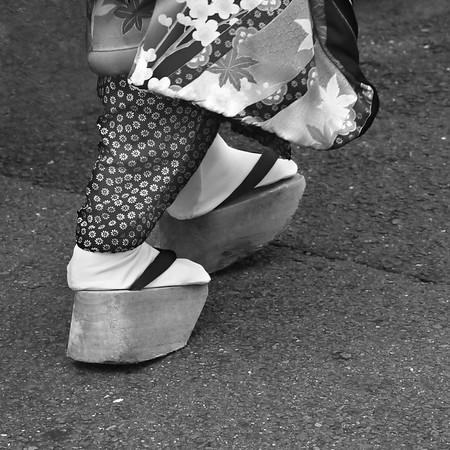 Geisha footwear