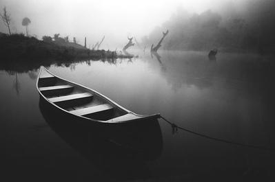 Misty morning - Lake Kenyir, Malaysia