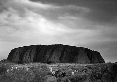 Ayer's Rock - The world's biggest monolithic rock, Alice Spring - Australia