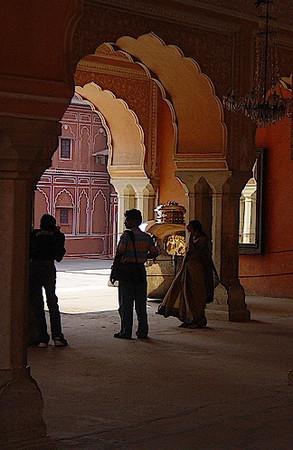 inside City Palace, Jaipur