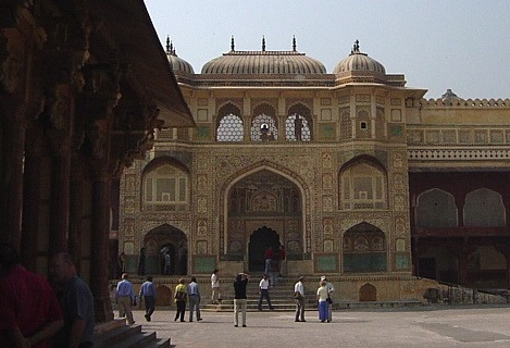 inside Palace entrance, Amber Fort, Jaipur