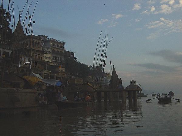 along the Ganges River, Varanasi, India