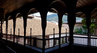 view from 18th century Svrzo House, Sarajevo