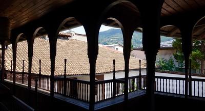 view from 18th century Svrzo House, Sarajevo