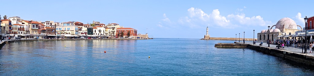 Chania Harbor, Crete