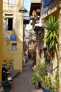 in Chania old city, Crete