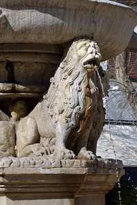 Venetian Lion fountain, Heraklion