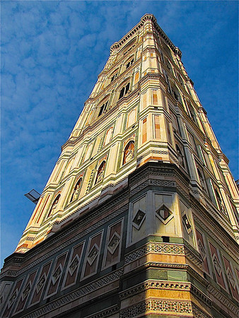 the Campanile - bell tower - Florence