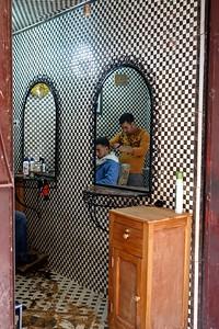 barbershop in Fez