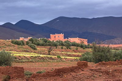 in Talouat in the Atlas Mountains