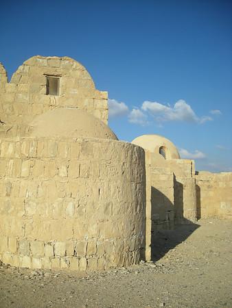 Qusayr Amra in the eastern desert of Jordan