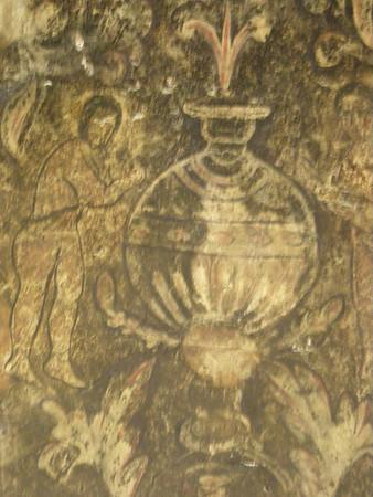 Frescoe in Qusayr (little palace) Amra, Jordan