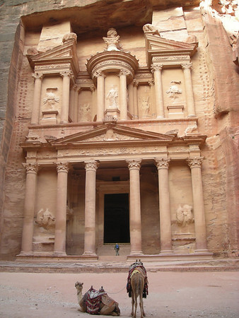 "The ""Treasury"" building at Petra, Jordan"