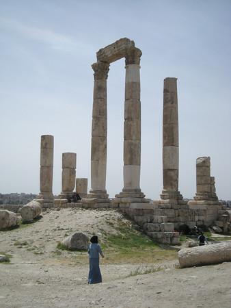 Temple of Hercules, the Citadel, Amman, Jordan