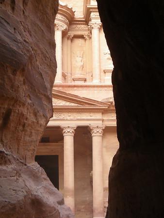 """the """"treasury"""" at Petra, Jordan"""