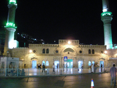 Hussein Mosque in Al Balad, Amman
